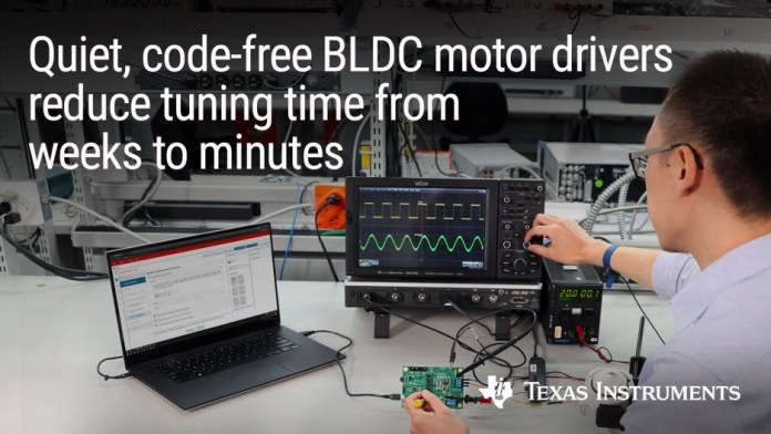 70-W BLDC motor drivers cut design time by months